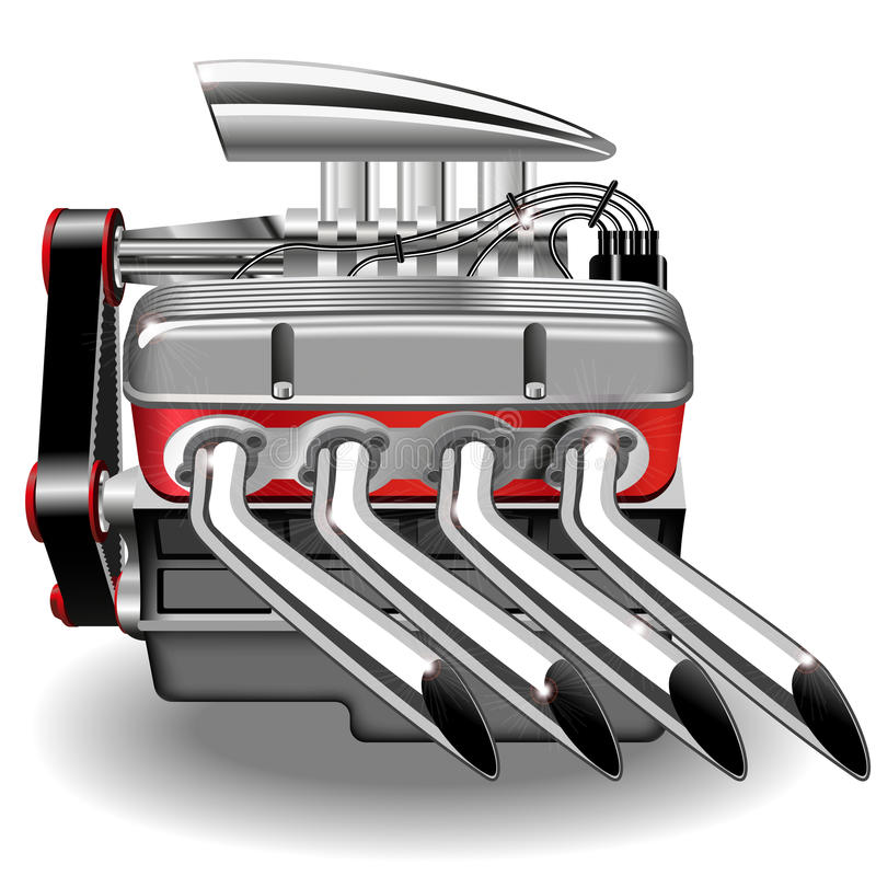 Wektorowy silnik ilustracja wektor