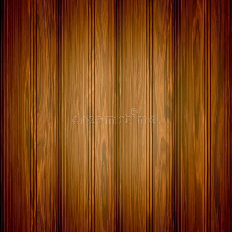 wektorowy tła drewno ilustracja wektor