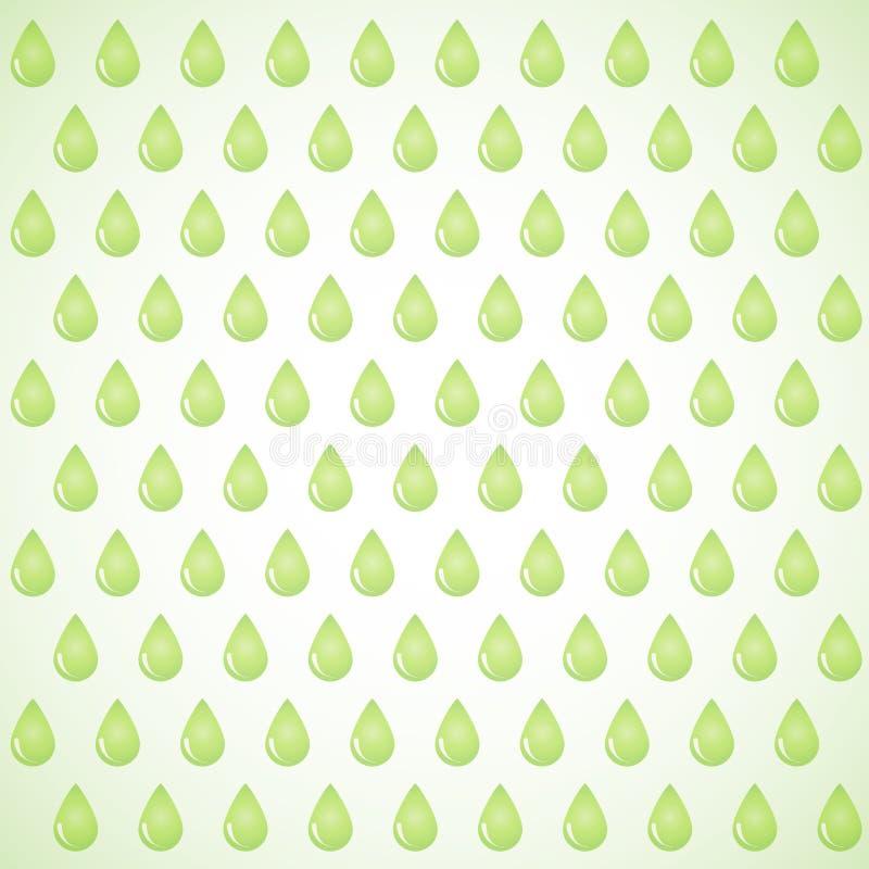 Wektorowy tło raindrops eps royalty ilustracja