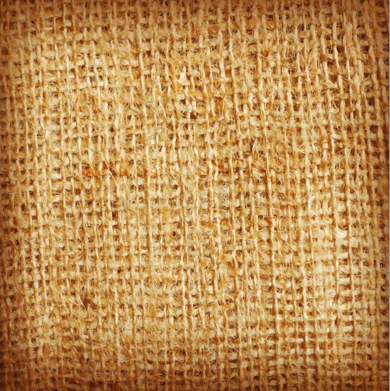 Wektorowy tło tekstura, burlap (,) ilustracja wektor