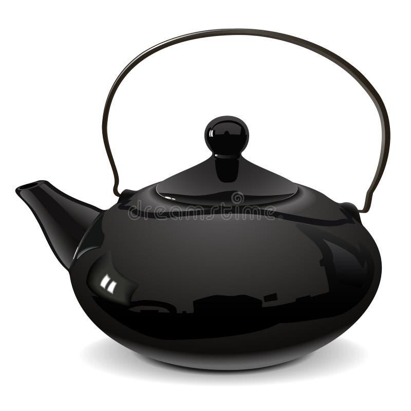 Wektorowy teapot ilustracja wektor