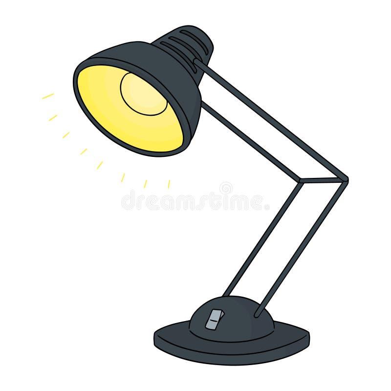 Wektorowy ustawiający lampa ilustracja wektor
