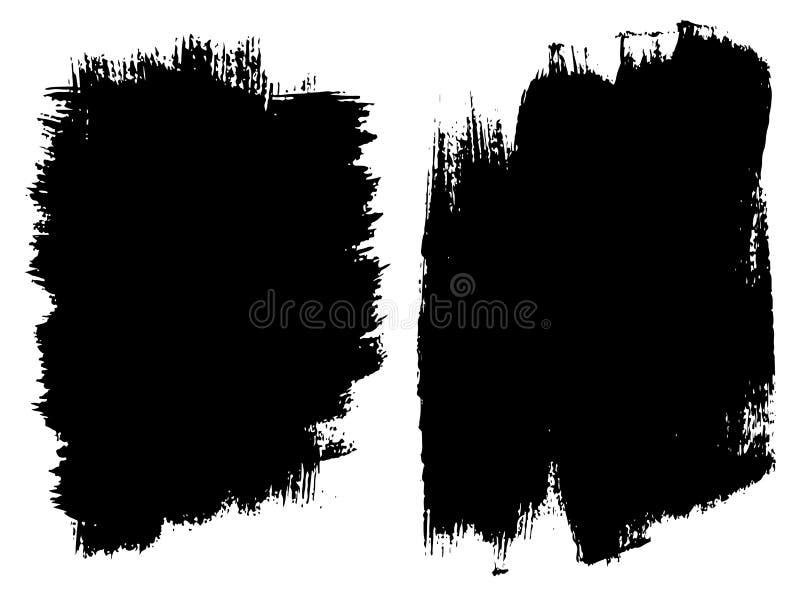 Download Wektorowy Ustawiający Artystyczna Czarna Farba, Atrament Lub Akrylowy, Ilustracja Wektor - Ilustracja złożonej z muśnięcie, ilustracje: 106900165