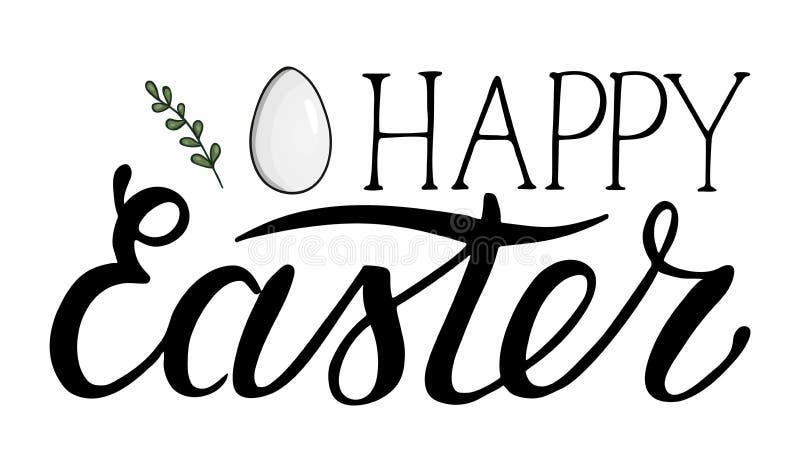 Wektorowy Wielkanocny literowanie ilustracji