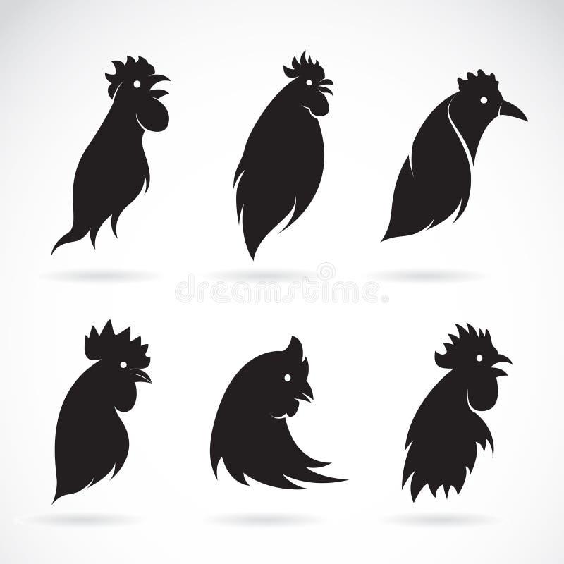 Wektorowy wizerunek kurczak głowa royalty ilustracja