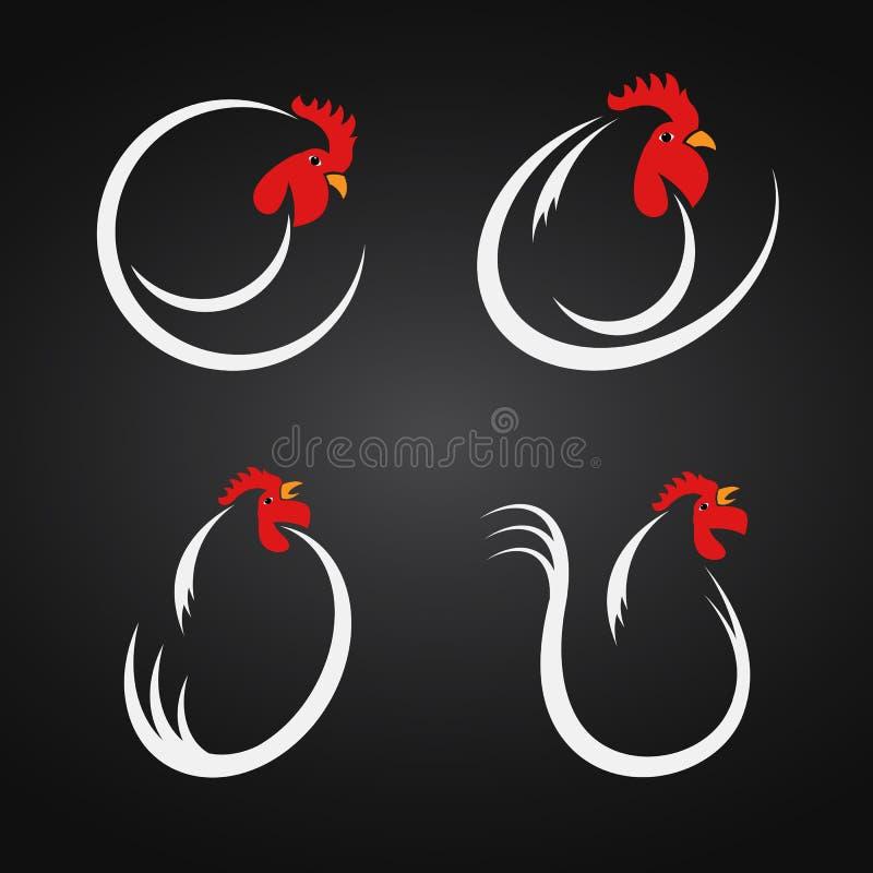 Wektorowy wizerunek kurczaka projekt royalty ilustracja