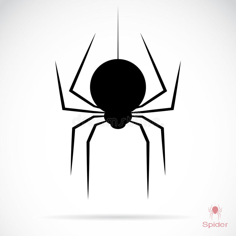 Wektorowy wizerunek pająk ilustracji
