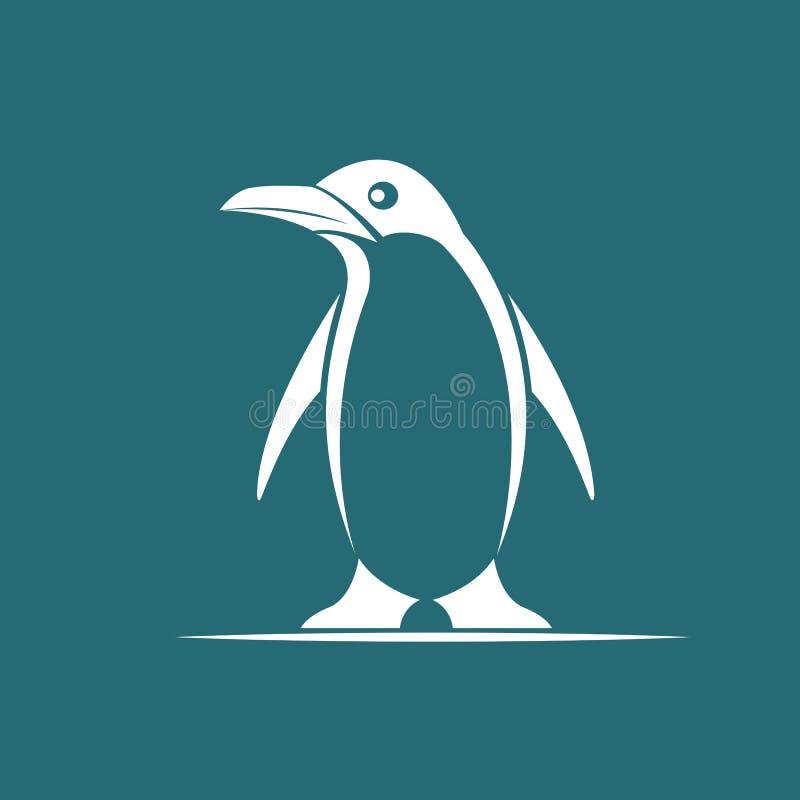 Wektorowy wizerunek pingwin ilustracji