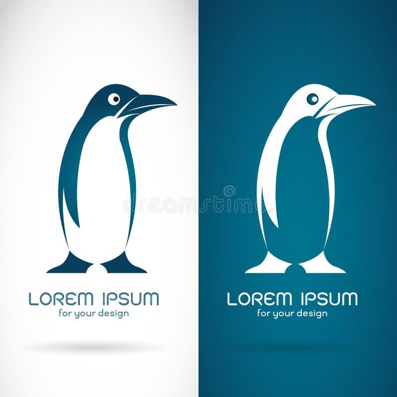 Wektorowy wizerunek pingwinu projekt ilustracji