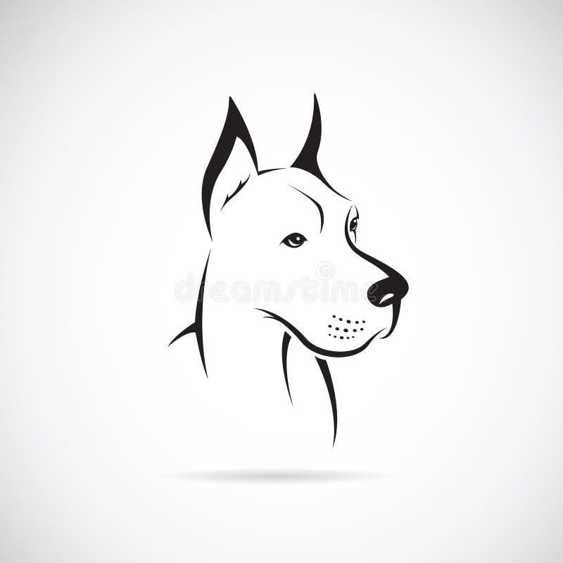 Wektorowy wizerunek psi (wielki dane) royalty ilustracja