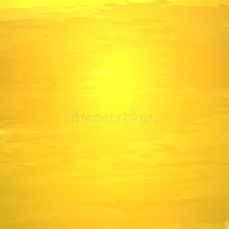 Wektorowy Złoty tekstury tło, Złocisty Olśniewający Kruszcowy tło royalty ilustracja