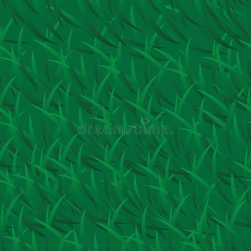 Wektorowy zielonej trawy tło zdjęcie royalty free