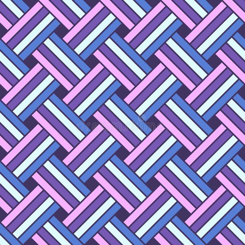 Wektoru bezszwowy Geometryczny Wzór ilustracji