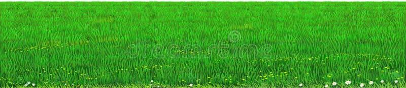 Wektoru gazonu trawy zielona tekstura ilustracji