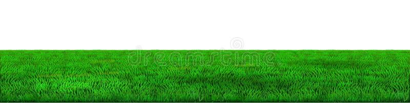 Wektoru horyzontu zielony tło royalty ilustracja