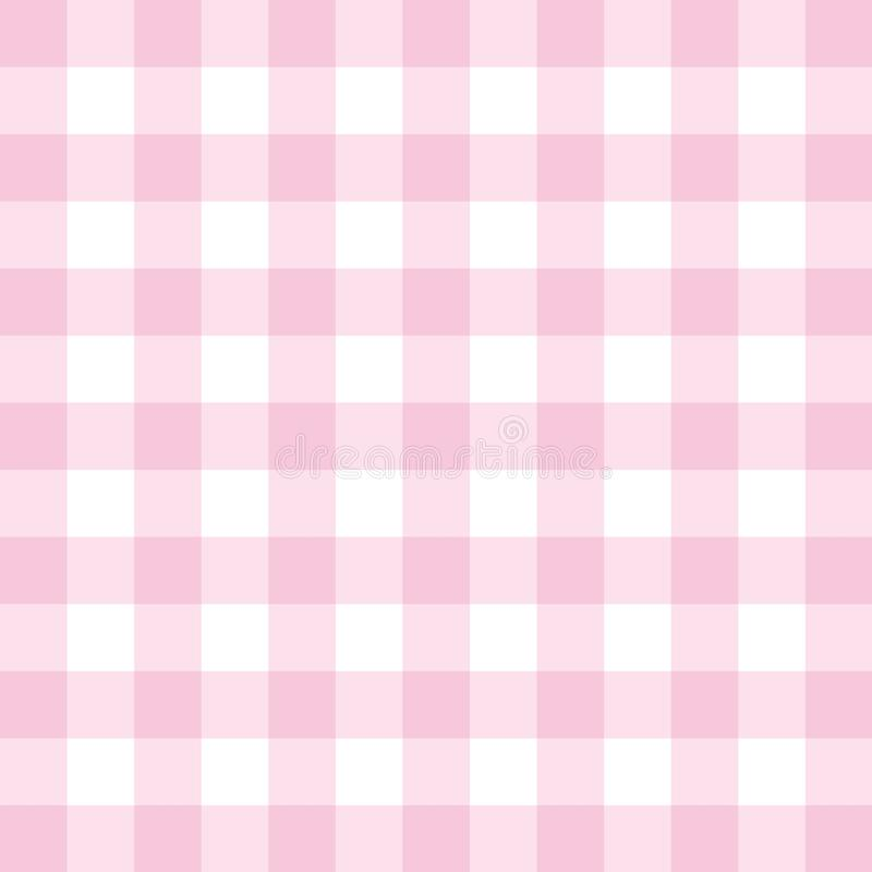 Wektoru różowy tło - w kratkę płytka wzór lub siatki tekstura ilustracja wektor