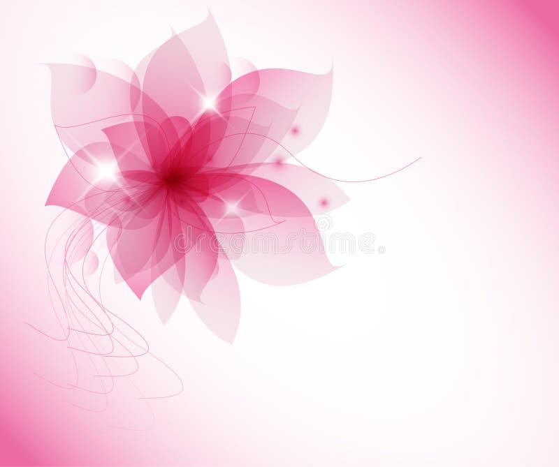 Wektoru róży kwiat ilustracji