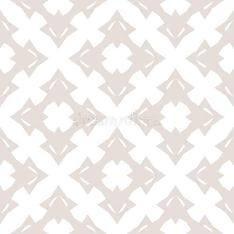 Wektoru wzór w azjata stylu z gwiazdą kształtuje, kwieciste postacie, krzyże ilustracji