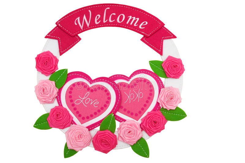Download Welcome stock image. Image of flowers, sign, welcome - 11151243