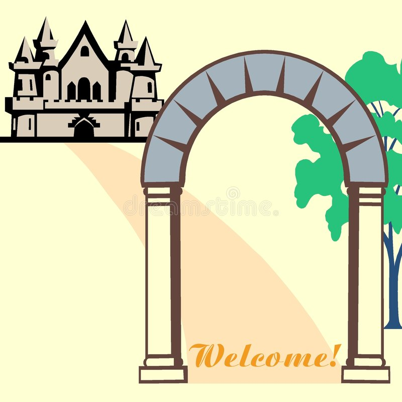 Welcome! stock illustration