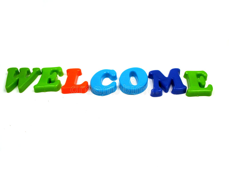 Welcome ! royalty free stock image