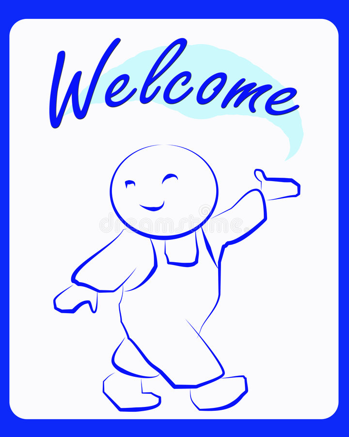 Free Welcome Stock Photography - 7749442
