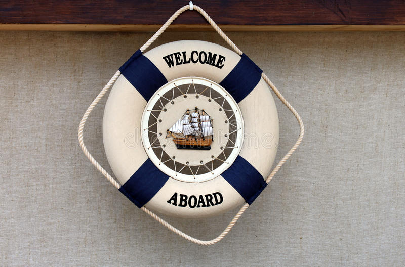 Download Welcome aboard stock photo. Image of travel, buoy, symbol - 14986460
