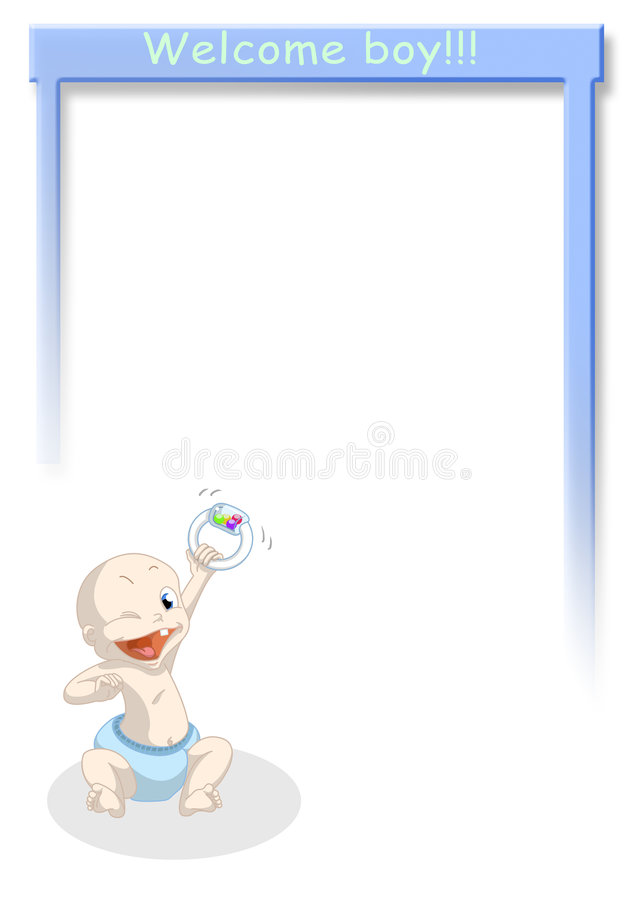 Download Welcome boy stock illustration. Image of father, cute - 4789888