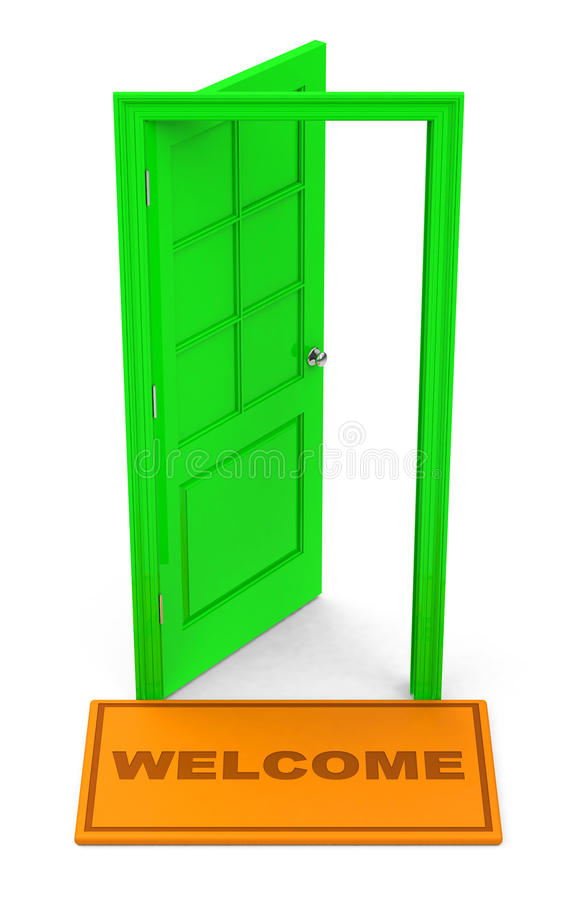 Download Welcome stock illustration. Image of close, exit, design - 39031849