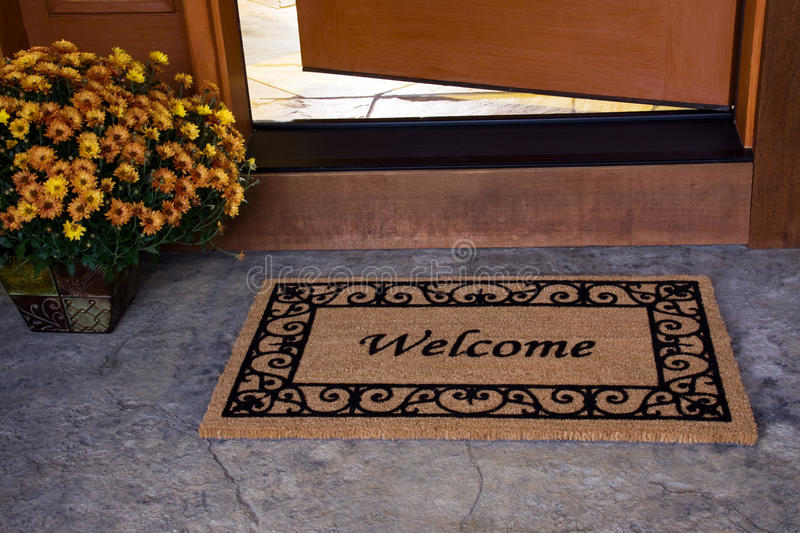 Welcome Home royalty free stock image