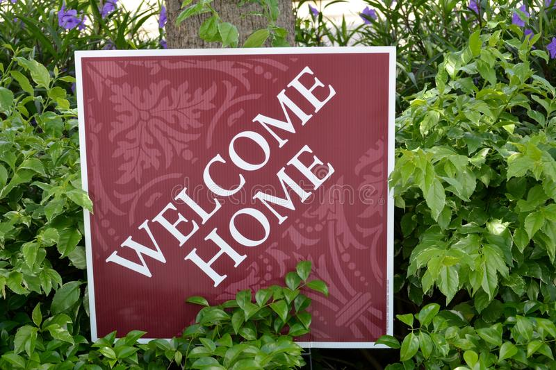 Welcome Home royalty free stock photos