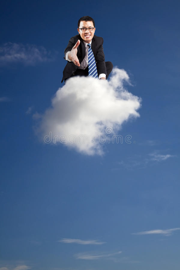 Download Welcome Join Cloud Business Stock Photo - Image: 15828110
