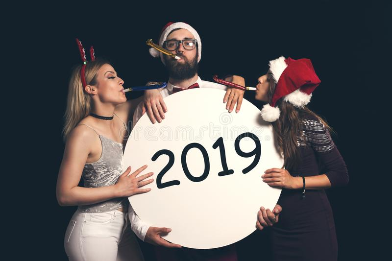 Welcome New 2019 royalty free stock photo