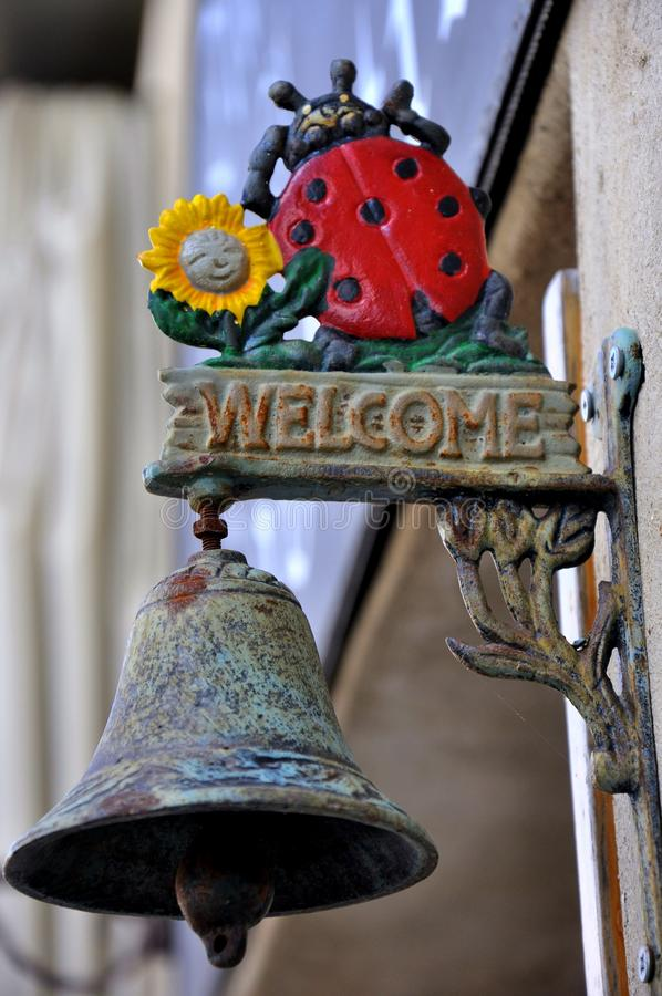 Free Welcome Sign In A Restaurant Stock Photos - 13789623
