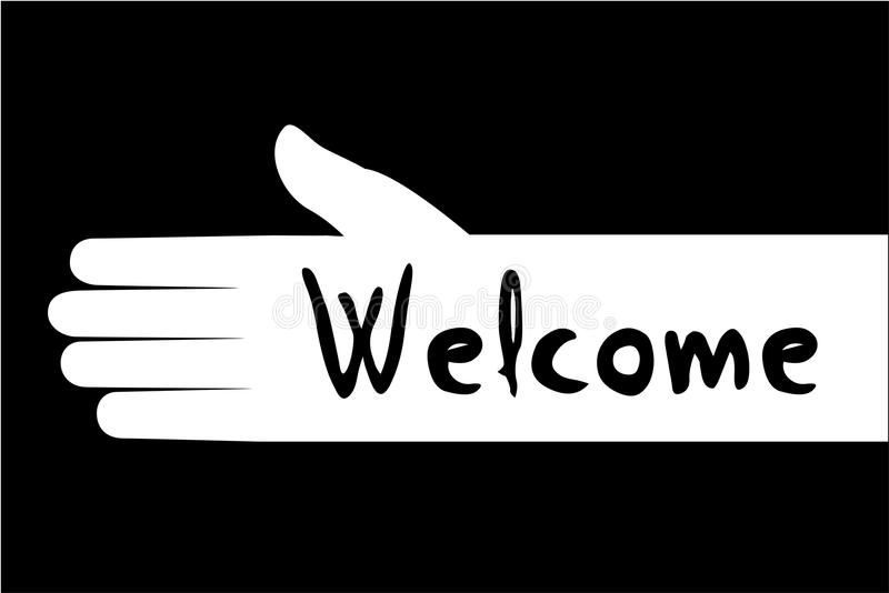 Welcome Symbol Stock Vector Illustration Of Mark Symbol 76662699