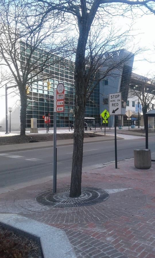 Welcome to Akron Ohio royalty free stock photos