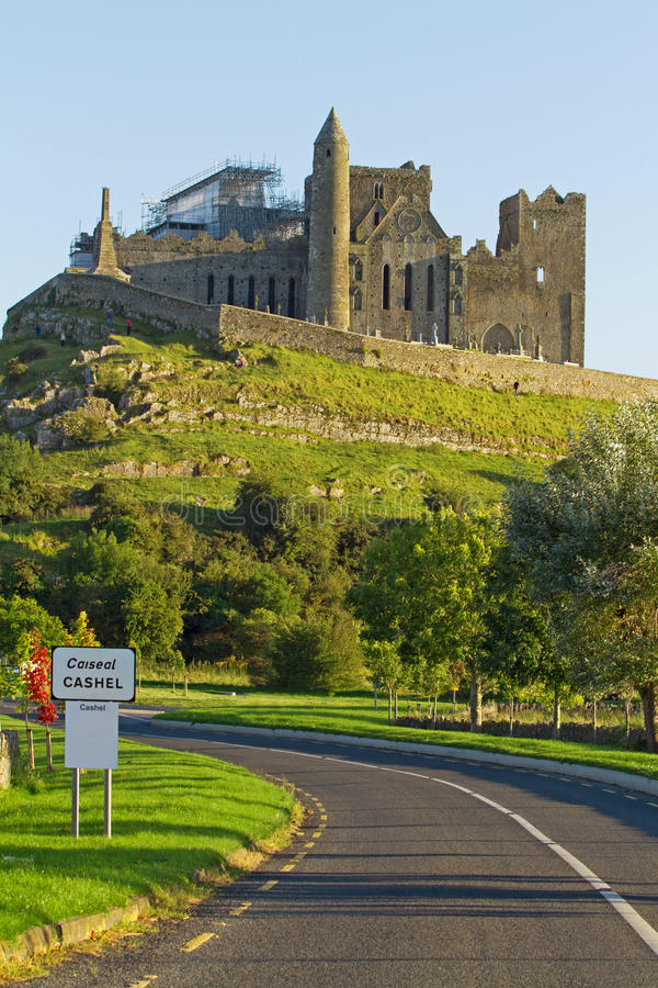 Download Welcome to Cashel stock photo. Image of gray, hill, monastery - 20942004