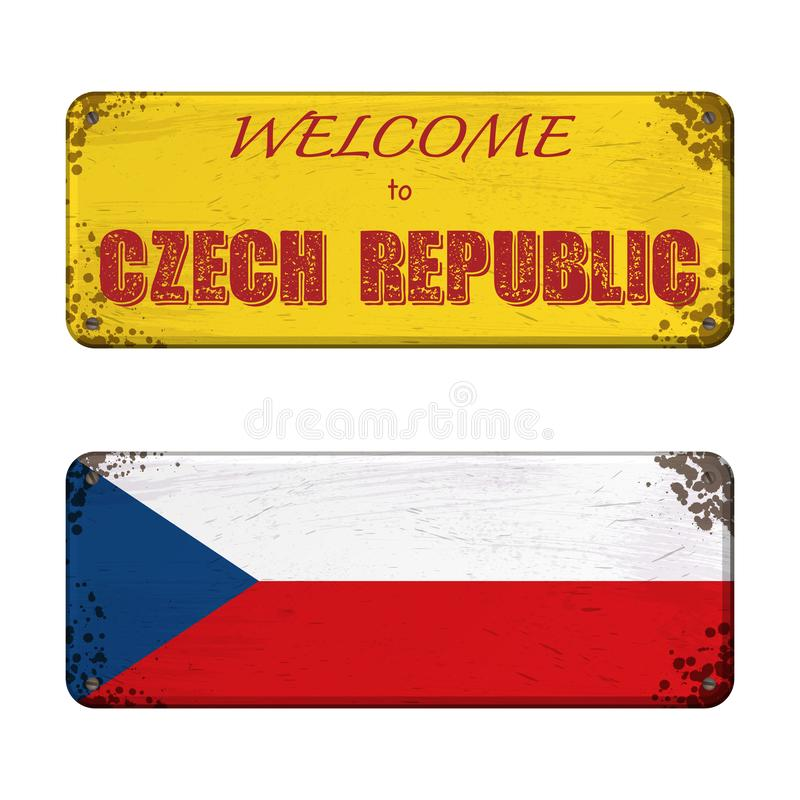 Free Welcome To Czech Republic Nameplate Royalty Free Stock Images - 160804999