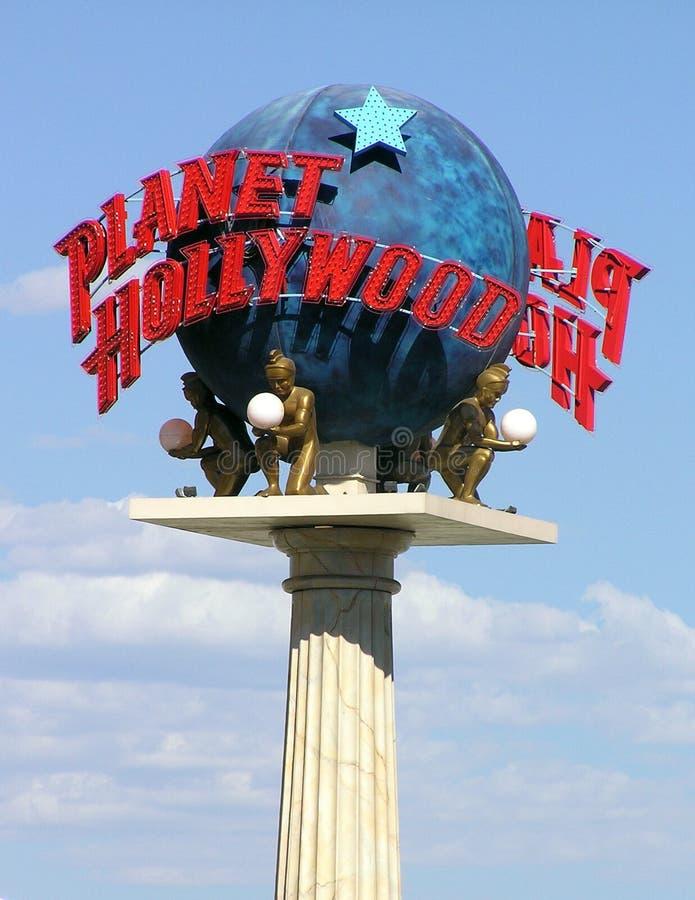 Planet Hollywood Resort Casino Restaurant sign stock photos