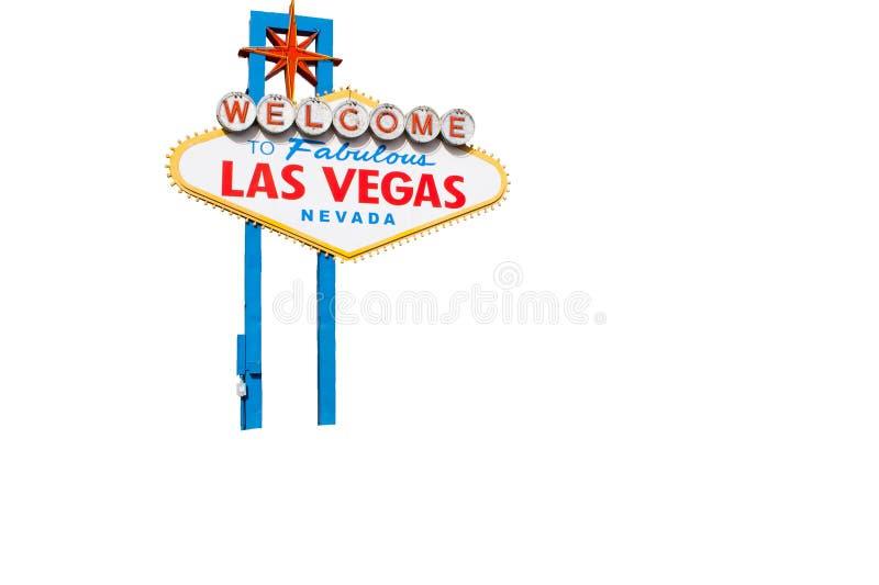 Welcome To Fabulous Las Vegas Nevada royalty free stock photo