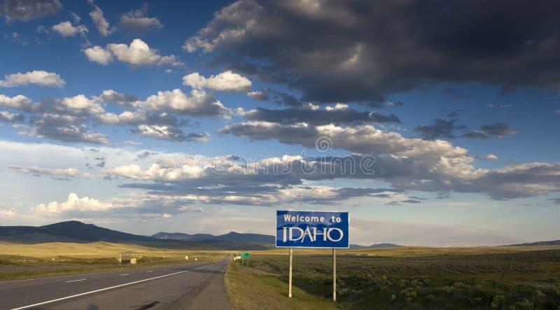 Welcome to Idaho stock photo