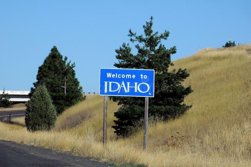 Welcome to idaho united states of america. UNIONTOWN/WASHINGTON /  02 September 2019 /  Welcome to idaho state united states of America stock images
