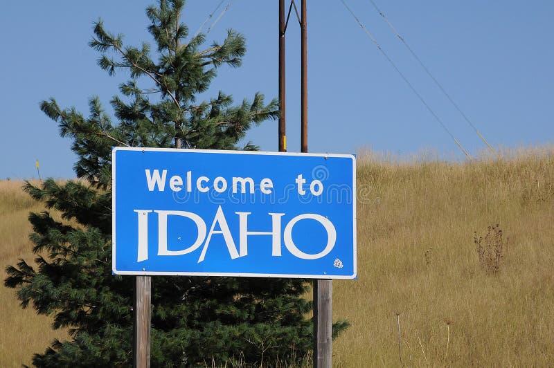 Welcome to idaho united states of america. UNIONTOWN/WASHINGTON /  02 September 2019 /  Welcome to idaho state united states of America royalty free stock images