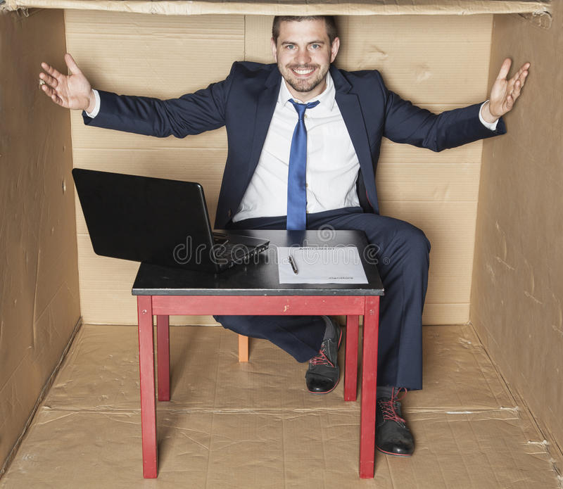 Welcome to my office royalty free stock photography