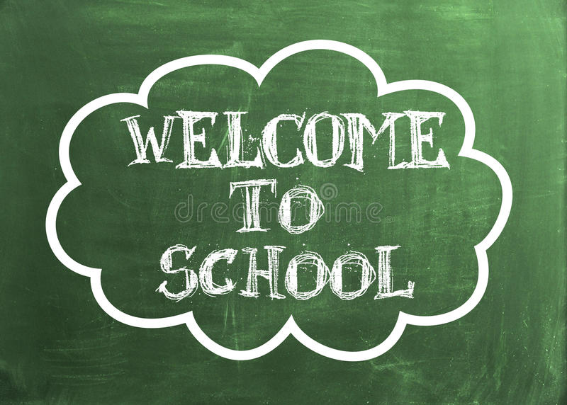 Download Welcome to School stock illustration. Image of magnification - 31974430
