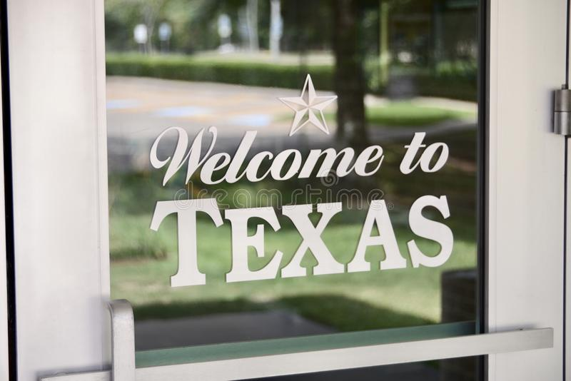 Welcome to Texas. Texas is the second largest state in the United States by both area and population. Geographically located in the South Central region of the royalty free stock photos