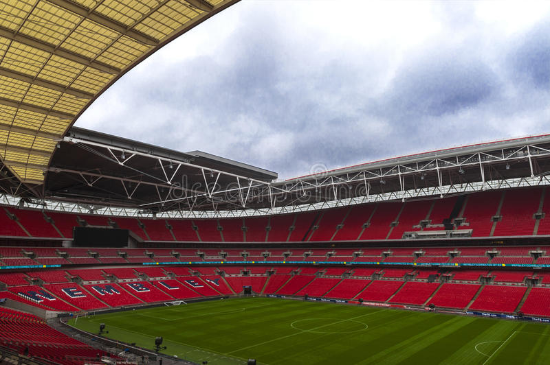 Welcome to Wembley royalty free stock image