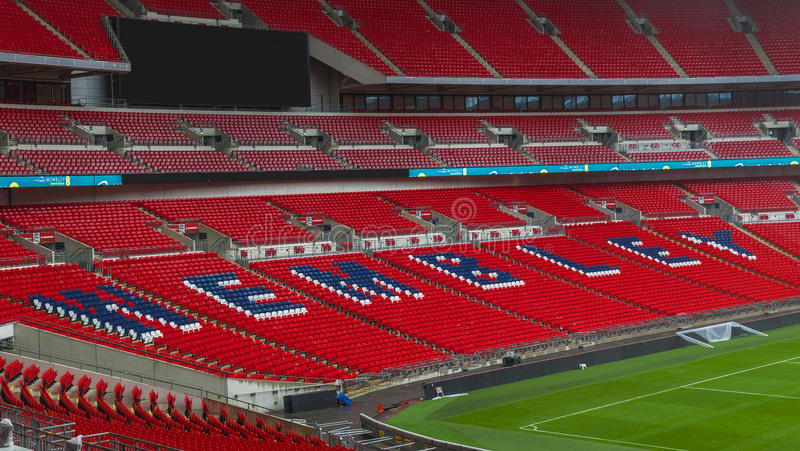 Welcome to Wembley royalty free stock photo