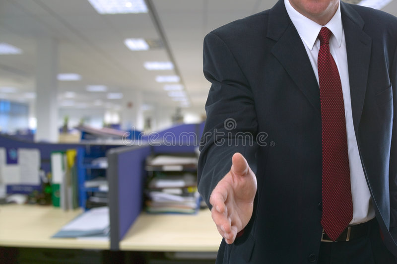 Welcome to your new office royalty free stock photos