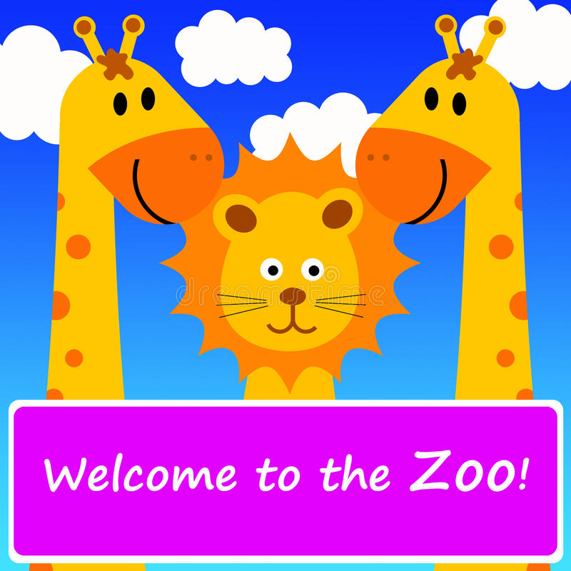 Download Welcome To The Zoo Stock Photography - Image: 18765712